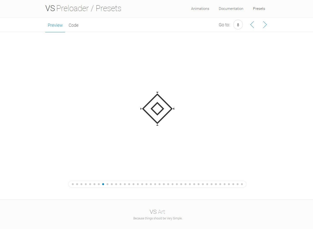 VSPreloader - Ultimate CSS Animated Preloaders