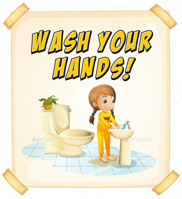 Wash Hands  - Man-made Objects Objects