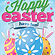 Happy Easter Event Flyer
