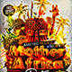 Flyer Mother Africa Party Konnekt - GraphicRiver Item for Sale