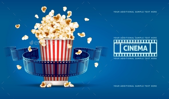 Popcorn for Movie Theater  - Man-made Objects Objects