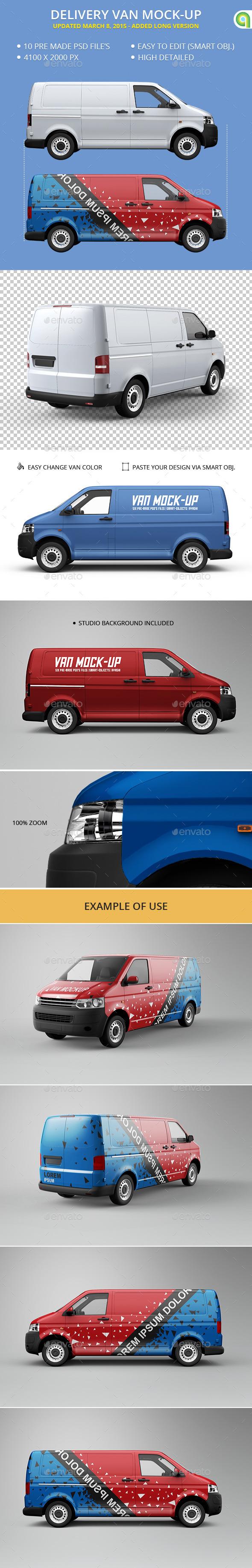 Van Mock-Up - Vehicle Wraps Print
