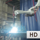 Welding Robot Start Work - VideoHive Item for Sale