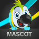 Parrot Macaw Mascot - GraphicRiver Item for Sale