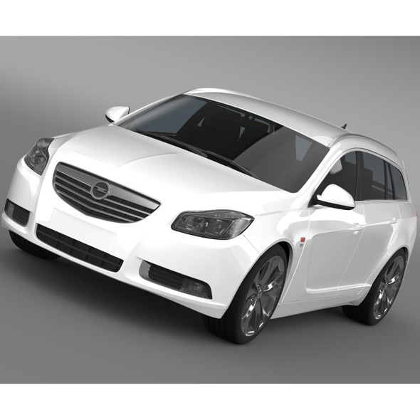 Opel Insignia OPC Line Sports Tourer - 3DOcean Item for Sale