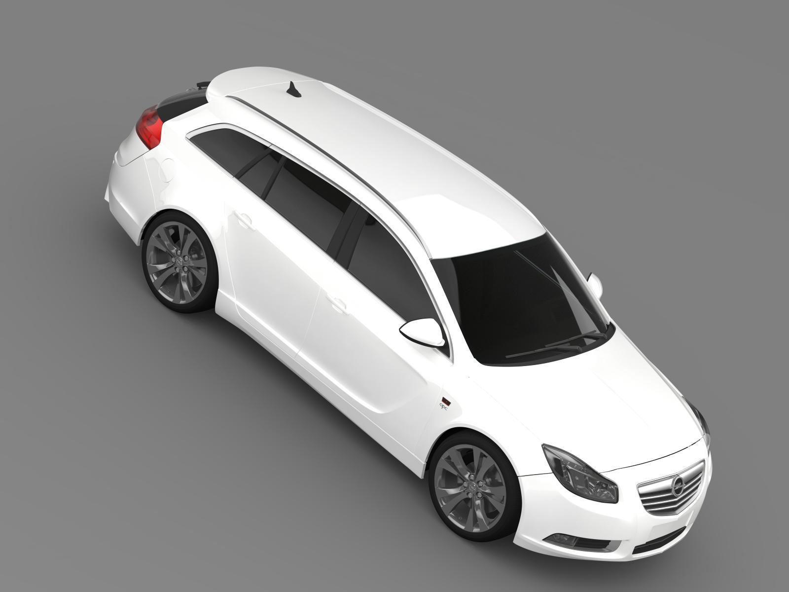 opel insignia opc line sports tourer by creator 3d 3docean. Black Bedroom Furniture Sets. Home Design Ideas