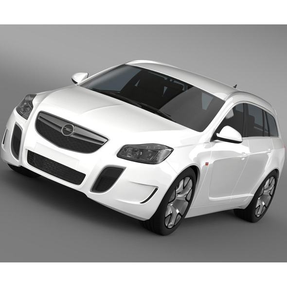 Opel Insignia OPC Sports Tourer 2013 - 3DOcean Item for Sale