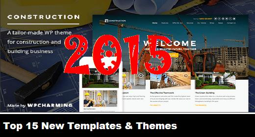 Top 15 New Templates & Themes