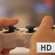 Woman Playing Video Game With Controller - VideoHive Item for Sale