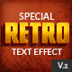 10 Retro Text Effect v.2 - GraphicRiver Item for Sale