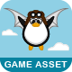 Flying Penguin - Game Asset - GraphicRiver Item for Sale