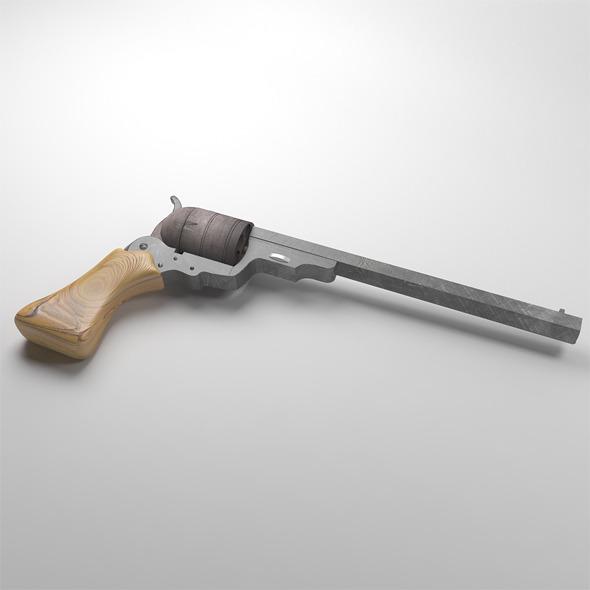 Old colt - 3DOcean Item for Sale