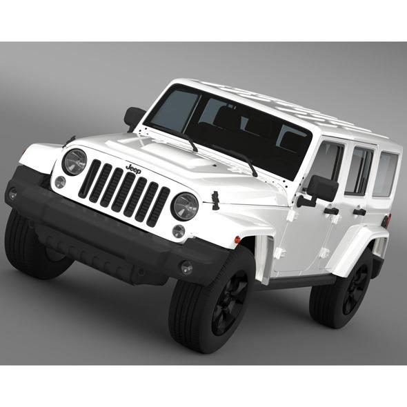 Jeep Wrangler Black Edition 2 2015 - 3DOcean Item for Sale