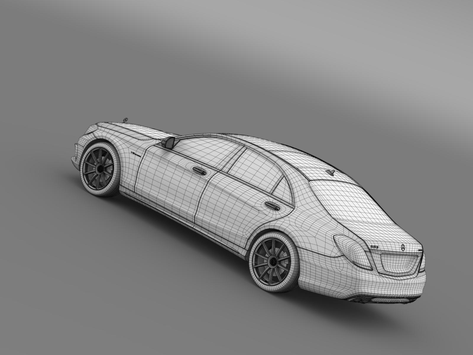 Mercedes benz s 63 amg w222 2013 by creator 3d 3docean for Mercedes benz creator
