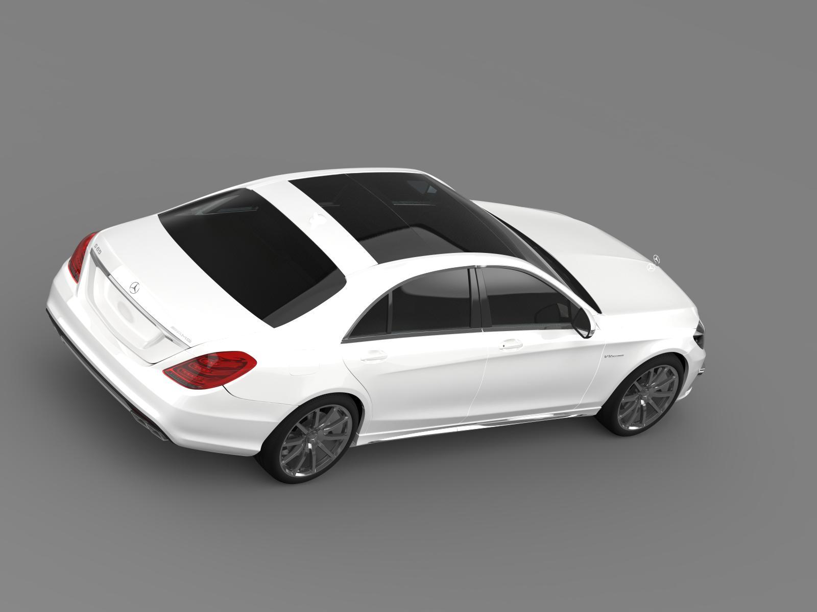 Mercedes benz s 65 amg w222 2014 by creator 3d 3docean for Mercedes benz creator