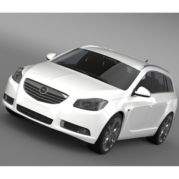 Opel Insignia BiTurbo Sports Tourer 2013 - 3DOcean Item for Sale