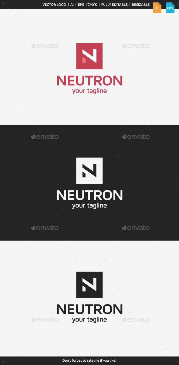 Neutron - Letter N - Letters Logo Templates