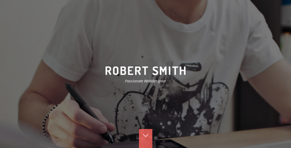 Robert Smith – Responsive Retina Resume HTML5 CV