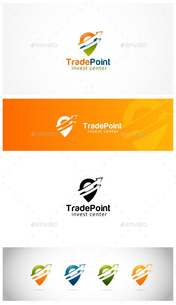 Trading Point - Symbols Logo Templates