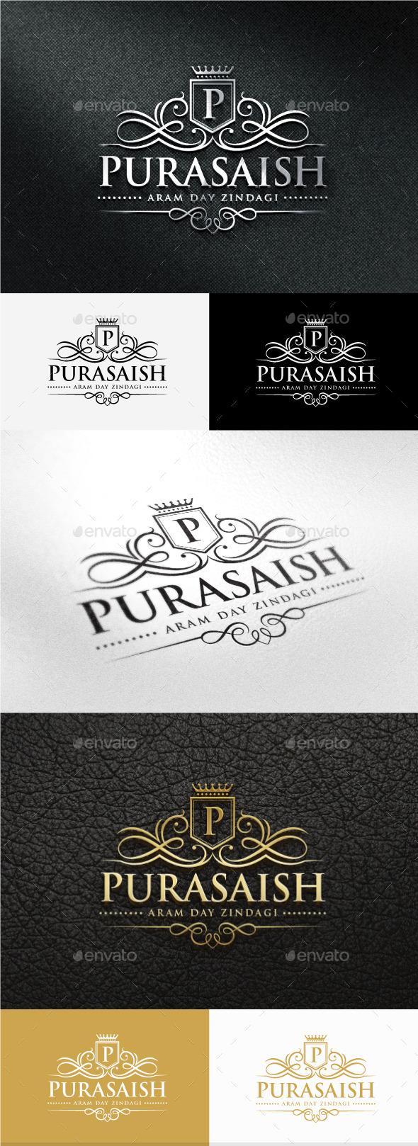 Purasaish Logo - Crests Logo Templates