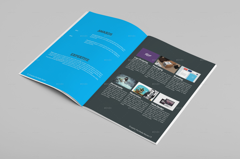 Multipurpose A Portfolio Brochure Template By Designerorg - A4 brochure template