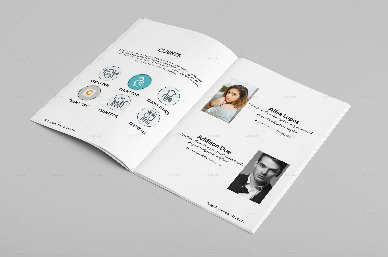 multipurpose a4 portfolio brochure template by 3designerorg