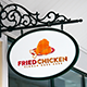Fried Chicken Logo - GraphicRiver Item for Sale