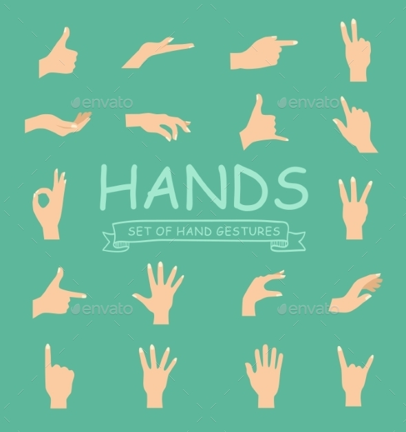 Hand Collection  - Miscellaneous Vectors