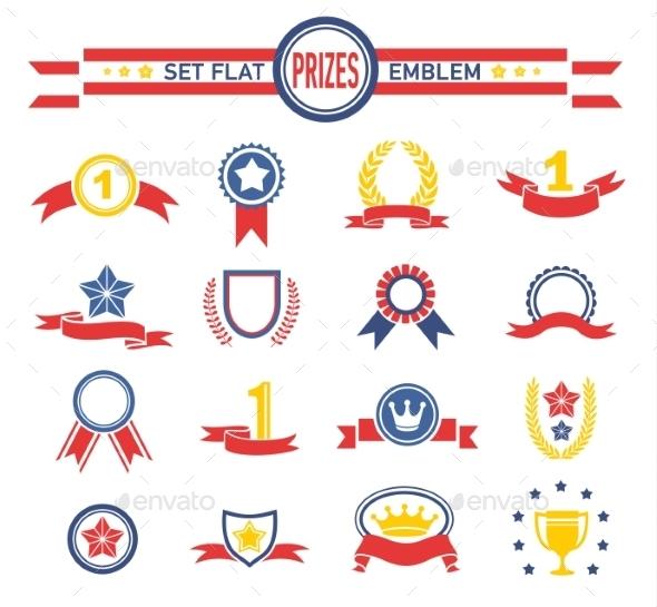 Prices Emblems  - Decorative Vectors