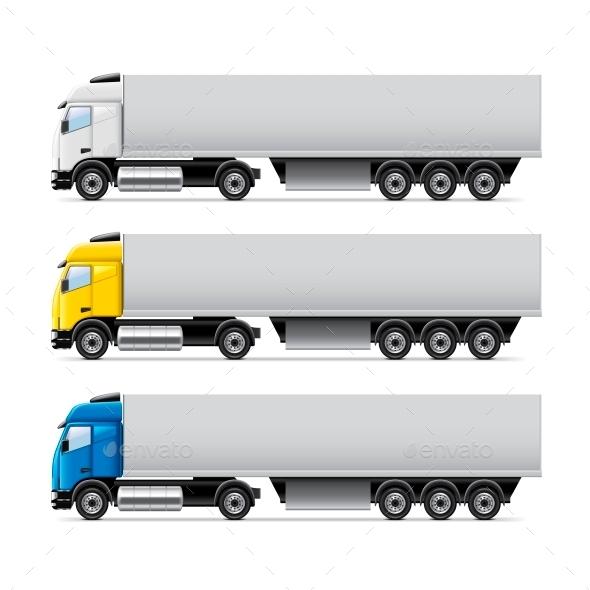 Truck Set - Technology Conceptual