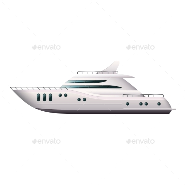Yacht  - Travel Conceptual