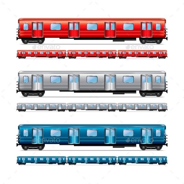 Subway Train Set - Technology Conceptual