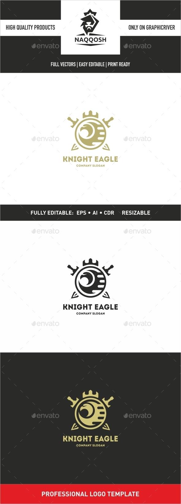 Knight Eagle - Objects Logo Templates