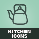 Hand Drawn Kitchen Icons - GraphicRiver Item for Sale