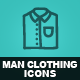Hand Drawn Man Clothing Icons - GraphicRiver Item for Sale
