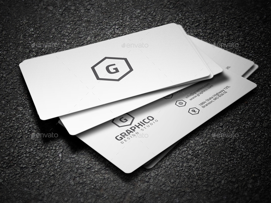 2 in 1 black white business card 53 by nazdrag graphicriver 2 in 1 black white business card 53 wajeb Choice Image