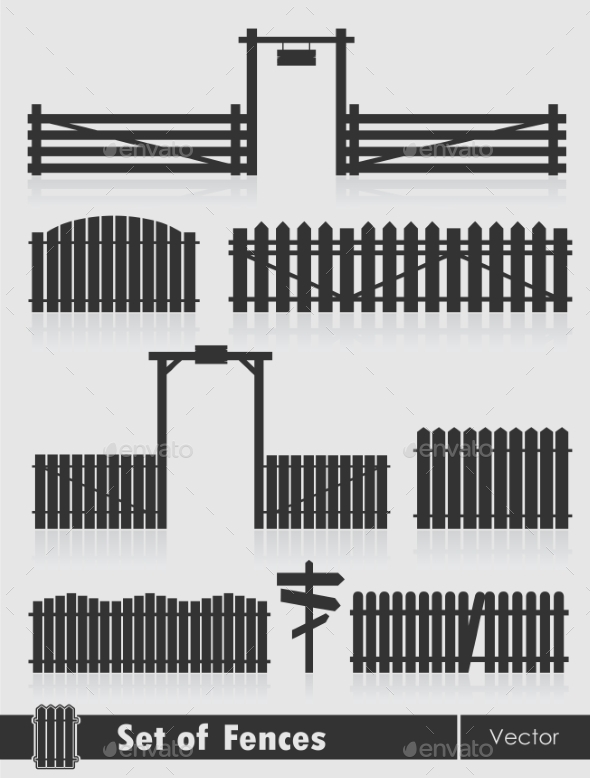 Fences  - Man-made Objects Objects