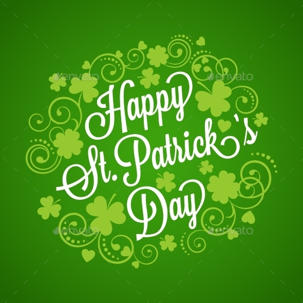 St. Patrick's Card - Christmas Seasons/Holidays