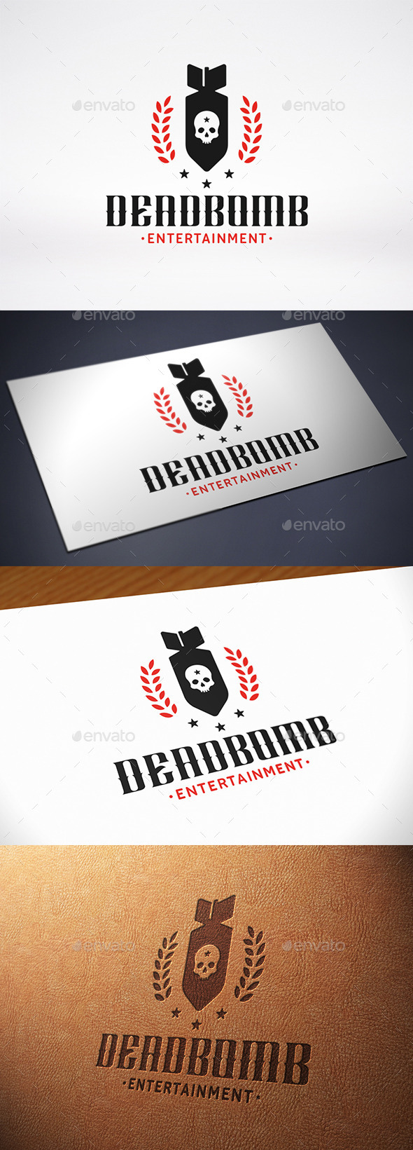 Military Bomb Logo Template - Crests Logo Templates