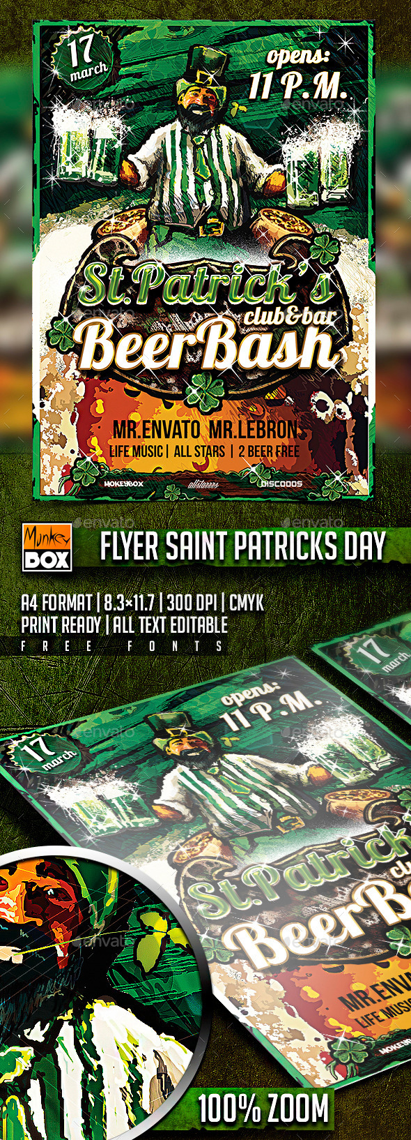 Flyer Saint Patrick Day - Events Flyers