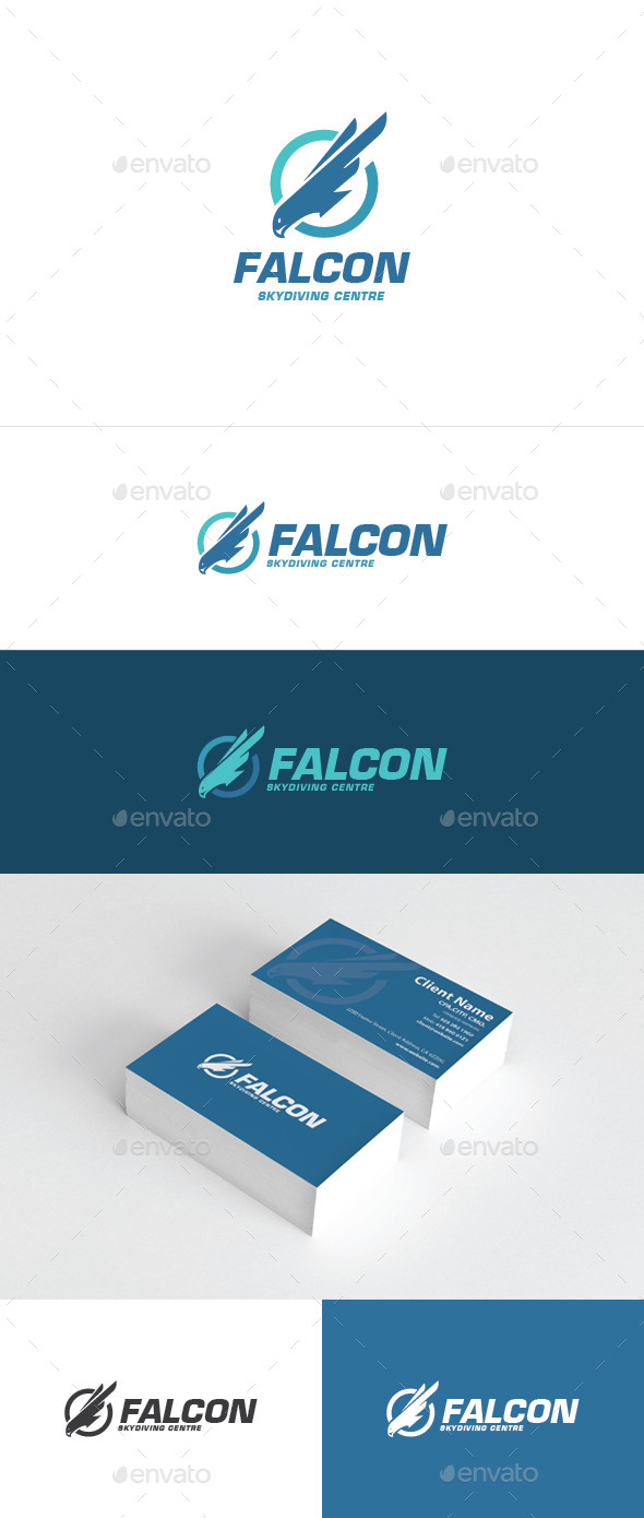 Falcon Logo - Animals Logo Templates