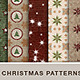 20 Seamless Christmas Backgrounds - GraphicRiver Item for Sale