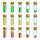 Test Tubes Game Progress Bar - GraphicRiver Item for Sale
