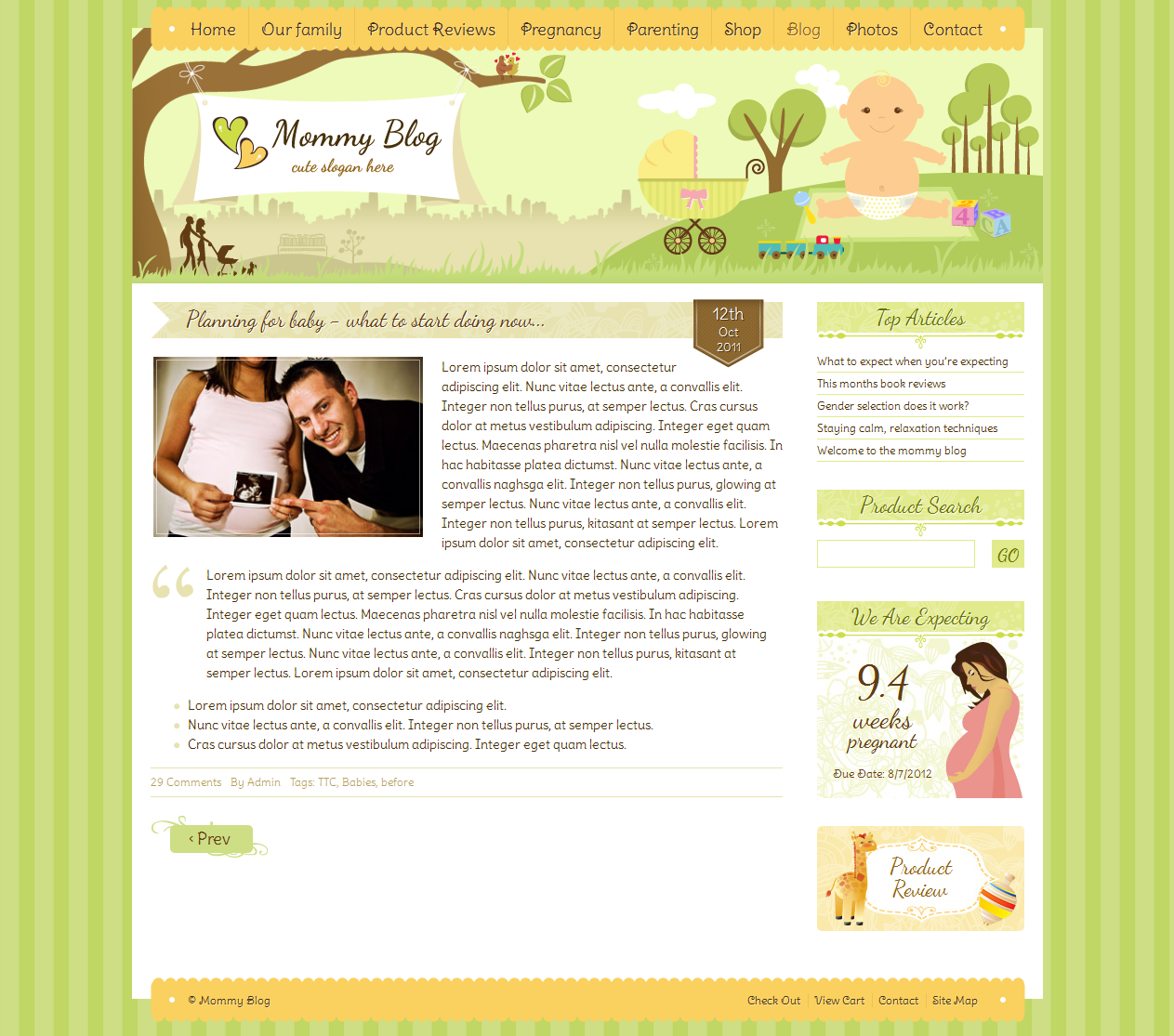 Magnificent Html Blog Post Template Picture Collection ...