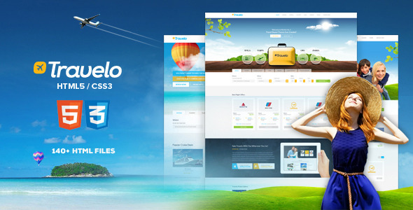 Travelo - Travel, Tour Booking HTML5 Template Screenshot