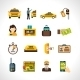 Taxi Icons Set - GraphicRiver Item for Sale