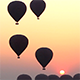 Air Balloons go Up in Sunrise in Bagan - VideoHive Item for Sale