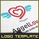 Angel Love - Logo Template - GraphicRiver Item for Sale