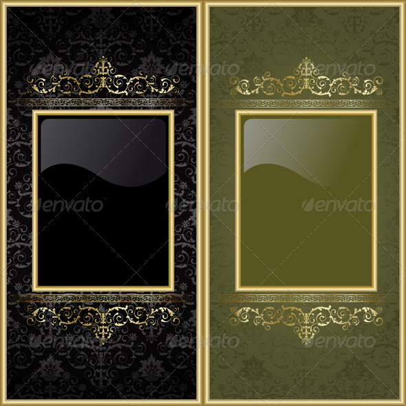 Set from frames - Backgrounds Decorative