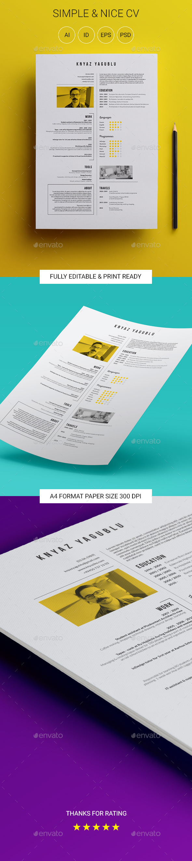 Simple & Nice CV